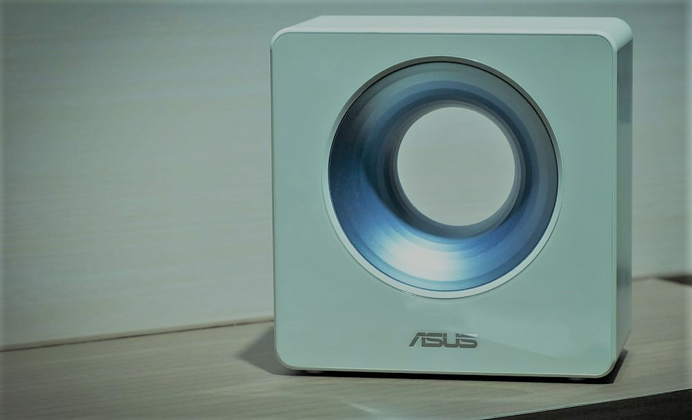Asus launches Unique looking router with advance features