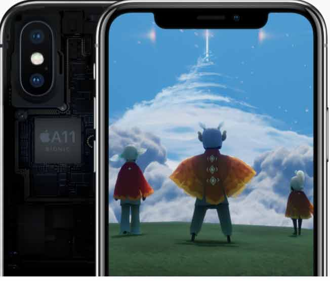 Image result for iphone x a11 neural engine