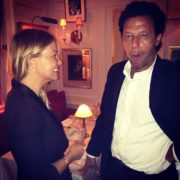 imran khan with lara bingie