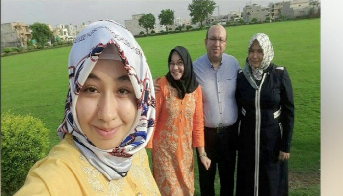 turkish family member that disappeared in Pakistan