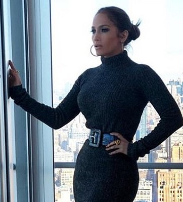 jennifer lopez tiny waist
