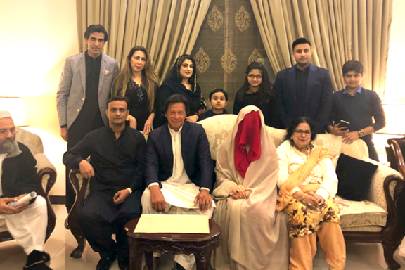 PTI confirms Imran Khan's marriage to Bushra Maneka
