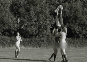 Female rugby player