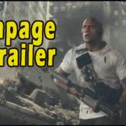 Dwayne Johnson Rampage Movie Trailer Is Next BlockBuster